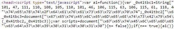 Strange JavaScript
